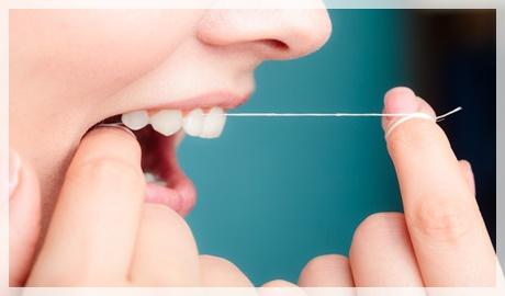 Yanlış diş ipi kullanımı
